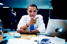 Obama goes online to connect with the people.